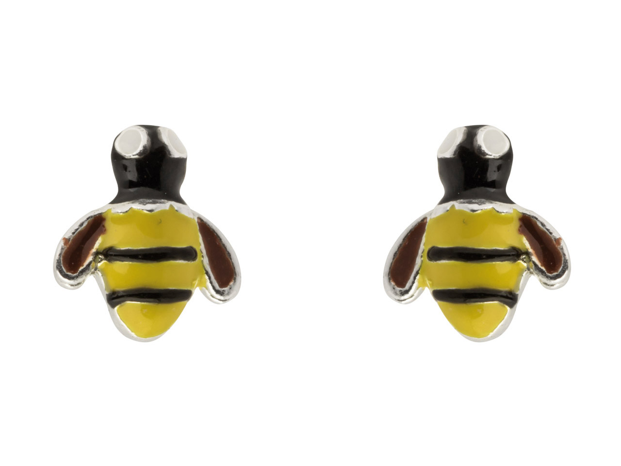 bee,bumble,stud,enamel,sts,stirling